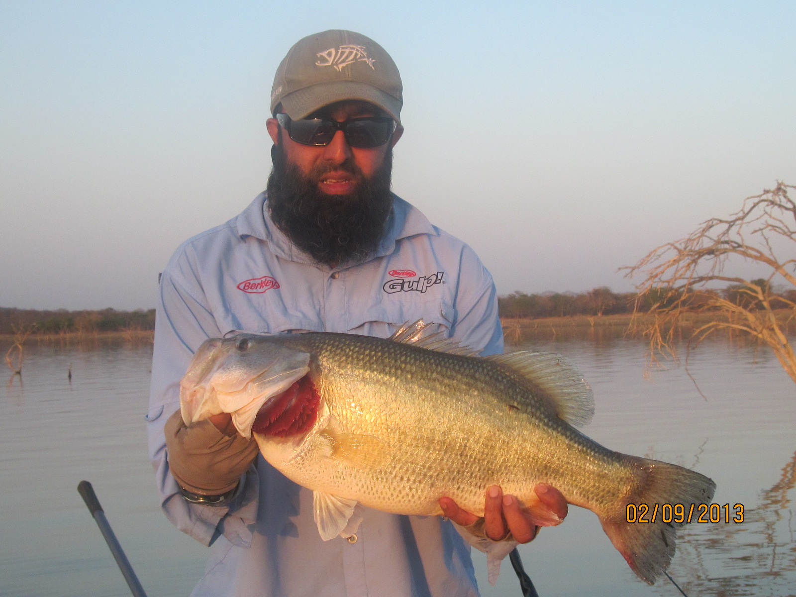 Monster bass lurking at letsibogo dam for Bass pro monster fish